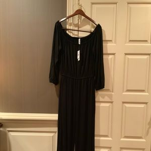 Plus Size Black Jump Suit NEW